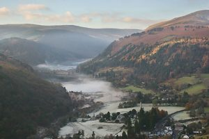 The stunning view of Glendalough